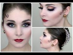 Kitri/Paquita/Spanish Stage Makeup Tutorial