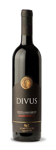 """CIAVOLICH, con il suo """"Monteoulciano d'Abruzzo DOC 2013 DIVUS"""""""