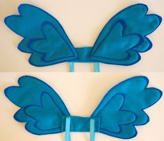 My Little Pony Rainbow Dash    pegasus wings by LeggoMyMegghos, $30.00