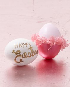 Eggy Dancer - click through for 21 more fun Easter egg decorating ideas from Martha Stewart!