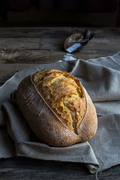 Still scared of making your own bread? Try this easy 1 hour start to finish dinner bread you can enjoy a warm-out-of-the-oven bread anytime you want Bread Bun, Bread Rolls, Easy Bread, Spoon Bread, Pain Au Levain, Rustic Bread, Our Daily Bread, Bread And Pastries, Cheese Bread