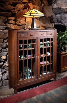 Great old display cabinet. FB pic.