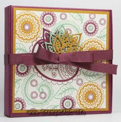 Pizza Box Paisleys & Posies