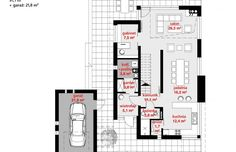 Projekt domu z poddaszem HomeKoncept 2 -