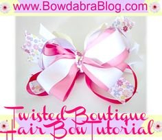 Twisted Boutique Hair Bow Tutorial