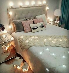 Teen Girl Bedrooms comfy decor - Most vibrant decorating tricks. Sectioned at teen girl bedrooms small space , pinned on this perfect moment 20190717 Cute Bedroom Ideas, Girl Bedroom Designs, Room Ideas Bedroom, Bedroom Themes, Diy Bedroom Decor, Home Decor, Bedroom Photos, Wall Decor, Teen Girl Bedrooms