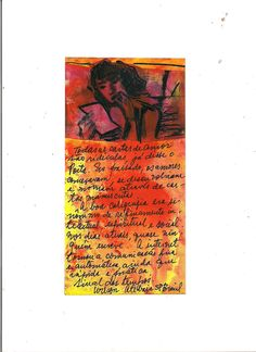 """Handwriting"" handmade Handwriting Mail Art Project   (Portugal) by Wilson Antonio Brasil)"