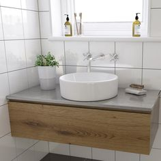 3 Cheap And Easy Ideas: Wooden Counter Tops Apartment Therapy bathroom counter tops islands.Bathroom Counter Tops One Sink granite counter tops natural stones. Countertop Basin, Kitchen Countertops, Wash Basin Cabinet, Wash Basin Counter, Washbasin Design, Wall Mounted Basins, Bathroom Basin, Counter Top Sink Bathroom, Lodge Bathroom