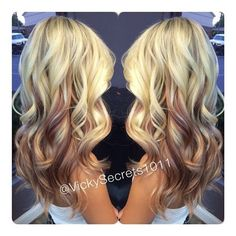 Ombre hair: the most beautiful color gradients and if we dared ombre hair? Different Blond, Hair Color And Cut, Hair Affair, Strawberry Blonde, Great Hair, Hair Highlights, Hair Dos, Pretty Hairstyles, Fall Hairstyles