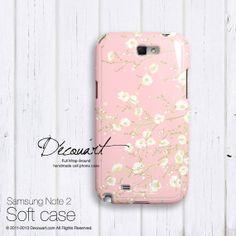 Floral Samsung galaxy S3 case Samsung galaxy S4 case by Decouart, $24.99