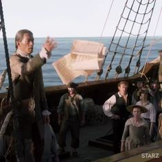 """387 Likes, 1 Comments - Italian Outlanders (@outlander_world) on Instagram: """""""" The Frasers set sail to find Young Ian, but it won't be easy. A new #Outlander airs this Sunday…"""""""