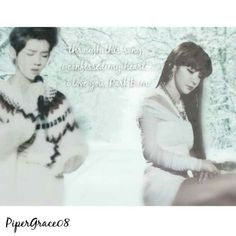 """""""Through this song, i confessed my heart. I love you, Park Bom"""" LuBom Luhan Park Bom 2NE1 2nexo edited by me"""
