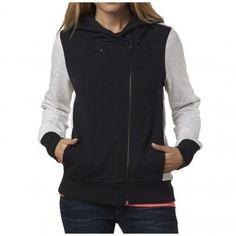 Fox Racing Clothing Side Swiped Womens Ladies Zip Up Sweatshirt Hoodies