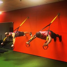 Taking the TRX plank to new heights. Photo cred: Instagrammer malik340. #TRX #trxtraining #fitness #trainanywhere #functionaltraining