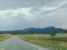Happy Jack Road to Vedauwoo between Cheyenne and Laramie, WY