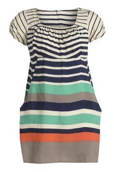 Just Curvy   Multi Colour and Width Sailor Stripe Dress Plus Size Clothing Uk, Plus Size Fashion, Stripe Dress, Plus Size Outfits, What To Wear, Cute Outfits, Sailor, Short Sleeve Dresses, Curvy