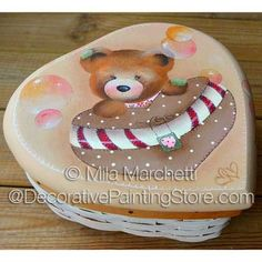 Love Is So Sweet ePattern - Mila Marchetti - Available @ http://www.decorativepaintingstore.com/products.php?cat=Mila+Marchetti