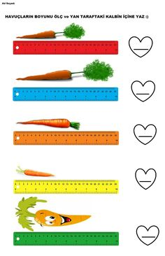 ölçme Measurement Worksheets, Parts Of Speech, Math Class, Classroom Management, Kids And Parenting, Activities For Kids, Learning Activities, Upper Elementary, Classroom Setting