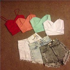 Tops and Shorts