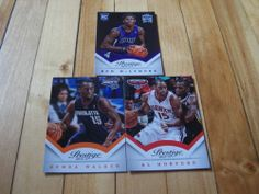 Al Horford Kemba Walker Ben McLemore RC 2013 14 Panini Prestige NBA 3 Card Lot | eBay
