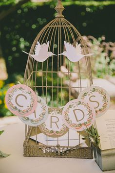 Birdcages are a classic, #vintage-inspired idea | Brides.com