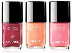 Chanel Spring 2012 Nail Polish Collection