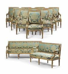 Bid in-person or online for the upcoming auction:Robert de Balkany Rome & the Côte d'Azur on March 2017 at London Furniture Dolly, French Furniture, Unique Furniture, Home Decor Furniture, Furniture Sets, Furniture Design, Classic Furniture, L Shaped Sofa Designs, Louis Seize