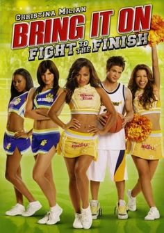 Get ready for more hot music, fierce competition and high-flyin' fun in the all-new movie starring Christina Milian, Bring It On: Fight to the Finish. Great Movies, New Movies, Movies To Watch, Family Movies, Iconic Movies, Bring It On 5, Cheer Movies, Cheer Captain, All Star Cheer