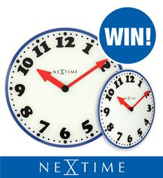 ☆ WIN ☆ Oh boy, oh boy, what to do to win this funky clock worth € 44.95?  #win  #free #Facebook #competition