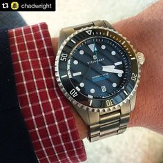 343 vind-ik-leuks, 2 reacties - Affordable Wrist Time (@affordablewristtime) op Instagram: 'Digging the New Steinhart titanium Ocean One. By @chadwright. I'm personally a big fan (an owner…'