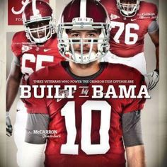 2012 Alabama football program cover
