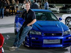 Paul purchased the Nissan Skyline R34 he drove in 2Fast 2Furious.He was a race car driver like his grandfather.