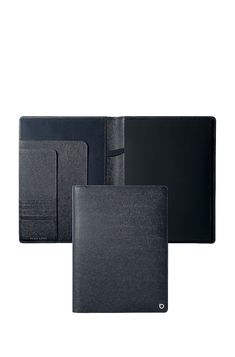 BOSS - A4 folder in blue textured leather with branded hardware Writing Instruments, Hugo Boss, School Supplies, A4, Hardware, Leather, Blue, Fashion, Moda