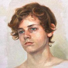 Oil portrait of my son Oil Portrait, Portraits, Children, Artist, Painting, Fictional Characters, Beautiful, Young Children, Boys