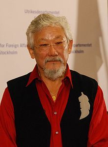 David Suzuki and 'The Nature of Things' - inspired and shaped my passion for the environment and science