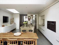 bulthaup by kitchen Architecture 'Contemporary Victorian home' case study #kitchenarchitecture #bulthaup #b3 #kitchen #openplan #modern #contemporary