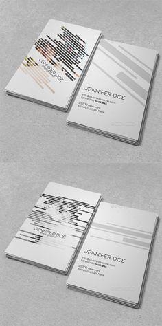 Photographer Business Card  —  PSD Template