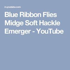 Blue Ribbon Flies Midge Soft Hackle Emerger - YouTube
