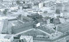 HANNOVER Ostsadt * altes Gefängnis    Abriss 1965 (Heute Pavillon)