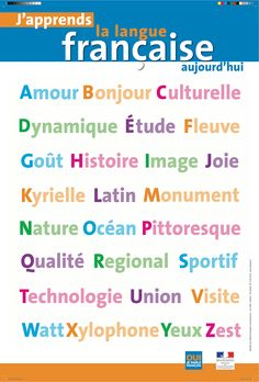 l'alphabet High School French, French Class, French Images, School Information, French Language, Foreign Language, Learn French, Educational Activities, My Teacher