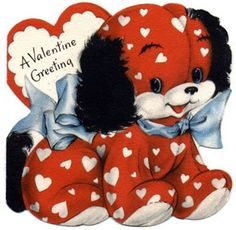 Vintage Kids Valentines.....This woman has pinned many old valentine cards...