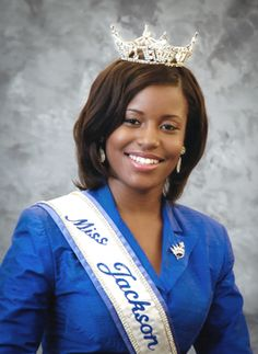 Sarah Alexis Keiwanna Brown, a native of Jackson, Mississippi is the twenty-one year old daughter of Mr. Keith Brown and Ms. Jawanaday Kay Blue. A senior Physics major and Education minor, she was chosen by her peers to represent the University as Miss Jackson State University in a campus wide election held during the spring 2012 academic semester @Jackson State