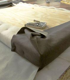 Cabecera de cama tapizada: DIY