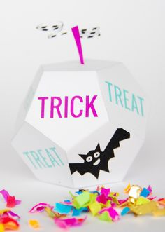 Printable trick or treat boxes