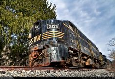 Western Maryland Railroad Engine 303 by Cash Valley Photography & Imaging, via Flickr