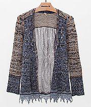 Gimmicks by BKE Pieced Cardigan Sweater