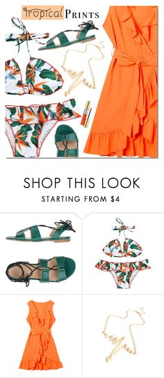 """""""Untitled #3040"""" by mada-malureanu ❤ liked on Polyvore featuring Carla G. and Yves Saint Laurent"""