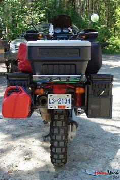 #BMW R1100 GS ready for Alaska Trip by Hasenwerk, via Flickr