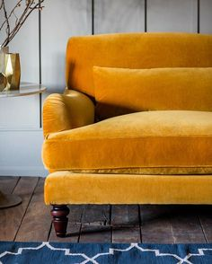 We're still head over heels in love with our velvet sofa range!