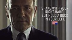 House Of Cards: Frank Underwood.